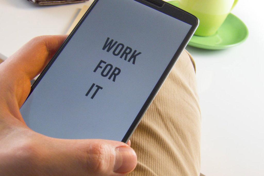 Ziele setzen Smartphone