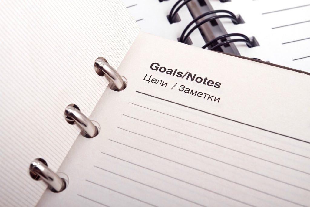erfolgreich werden Ziele
