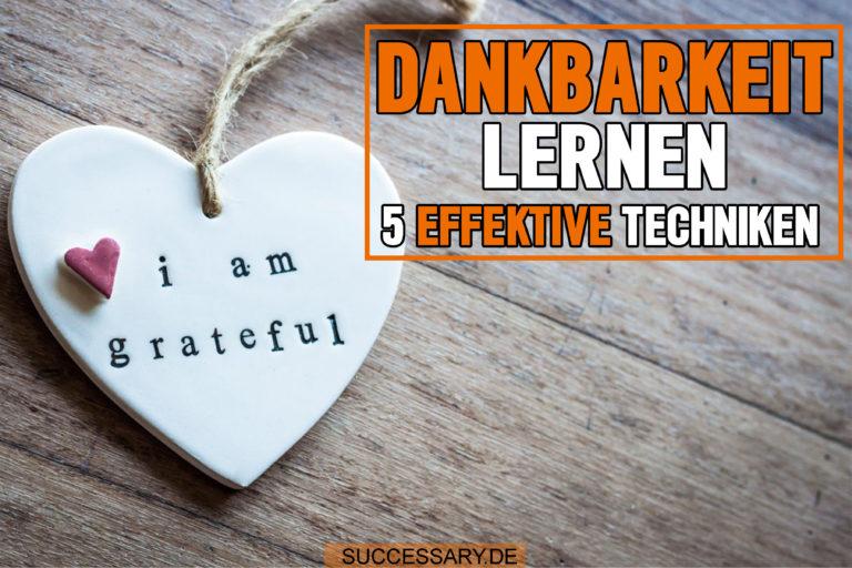 In diesem Artikel lernst du wie du Dankbarkeit lernen kannst.