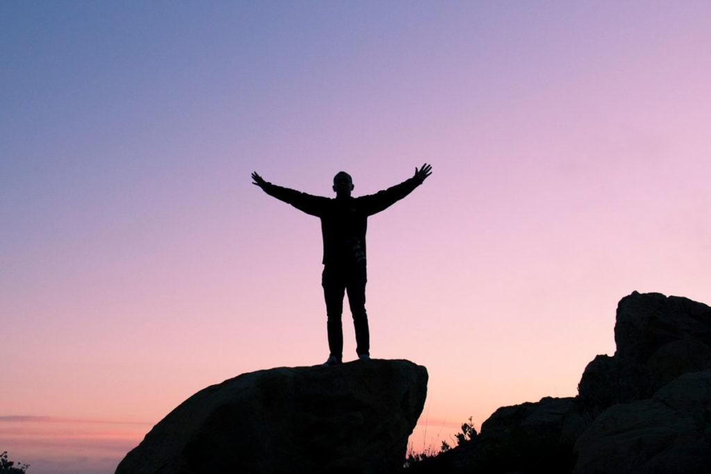Große Ziele Komfortzone überwinden